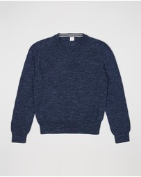 crewcuts by J Crew - Uneven Budding Cotton Classic Crew - Teens