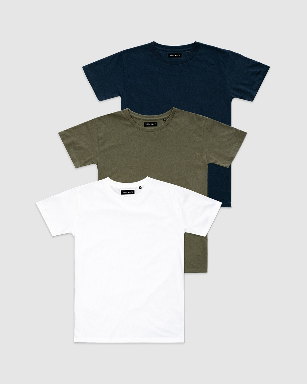 Stock & Co. - 3 Pack Stock Tee   Kids - T-Shirts & Singlets (MULTI) 3-Pack Stock Tee - Kids
