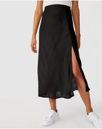 Cotton On - Belle Split Midi Skirt
