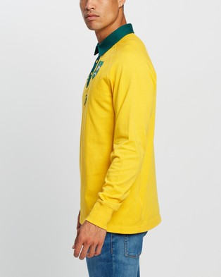 ASICS Traditional Home Jersey - Rugby Union (Wallabies Gold)