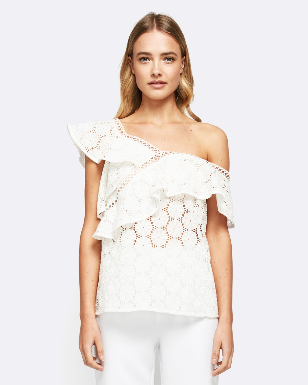 MVN Twisted Chronicles Top Tops White Twisted Chronicles Top