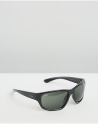 Ray-Ban - Injected Man Sunglasses RB4300