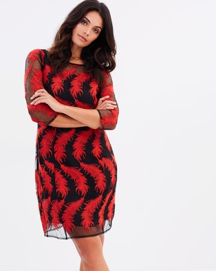 Faye Black Label – Ruby Cocktail Dress Ruby Feather