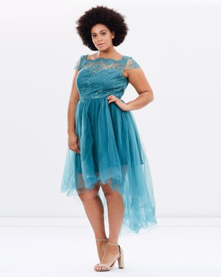 Chi Chi Curve – Dylann – Dresses (Teal)