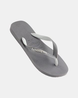 Havaianas Top Mix   Men's - All thongs (Steel Grey)