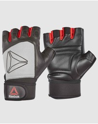 Reebok - Lifting Gloves - Grey/Large