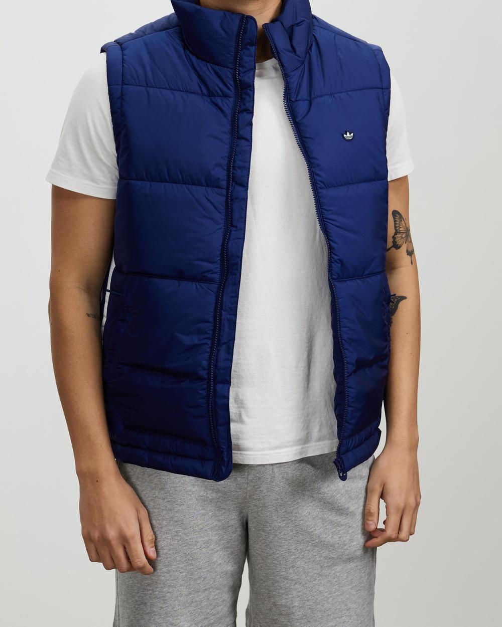 adidas Originals Padded Puffer Vest Coats & Jackets Night Sky