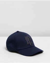 Tommy Hilfiger - Monogram Embroidery Baseball Cap