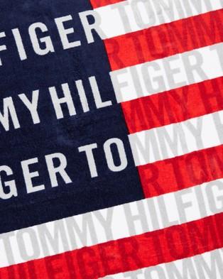 Tommy Hilfiger Beach Towel - Towels (Hilfiger Flag)