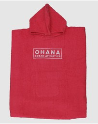 Ohana - Adult Hooded Towel