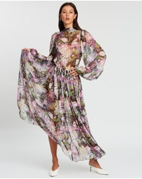 Romance Was Born - Montmartre Flower Tie Dress