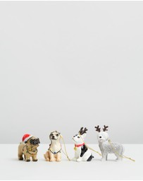 Typo - ​Four Pack Dog Ornaments