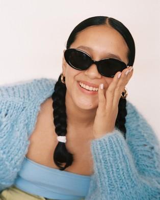 Lu Goldie Jeanne - Sunglasses (Black)