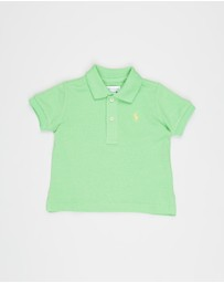 Polo Ralph Lauren - Knit Basic Mesh Polo - Babies