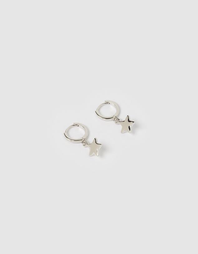 Women Star Huggie Earrings