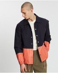 Band of Outsiders - Colour-Block Coach Jacket