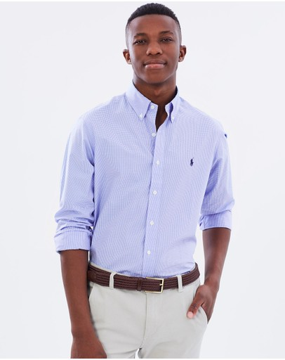 Polo Ralph Lauren - Gingham Cotton Poplin Shirt