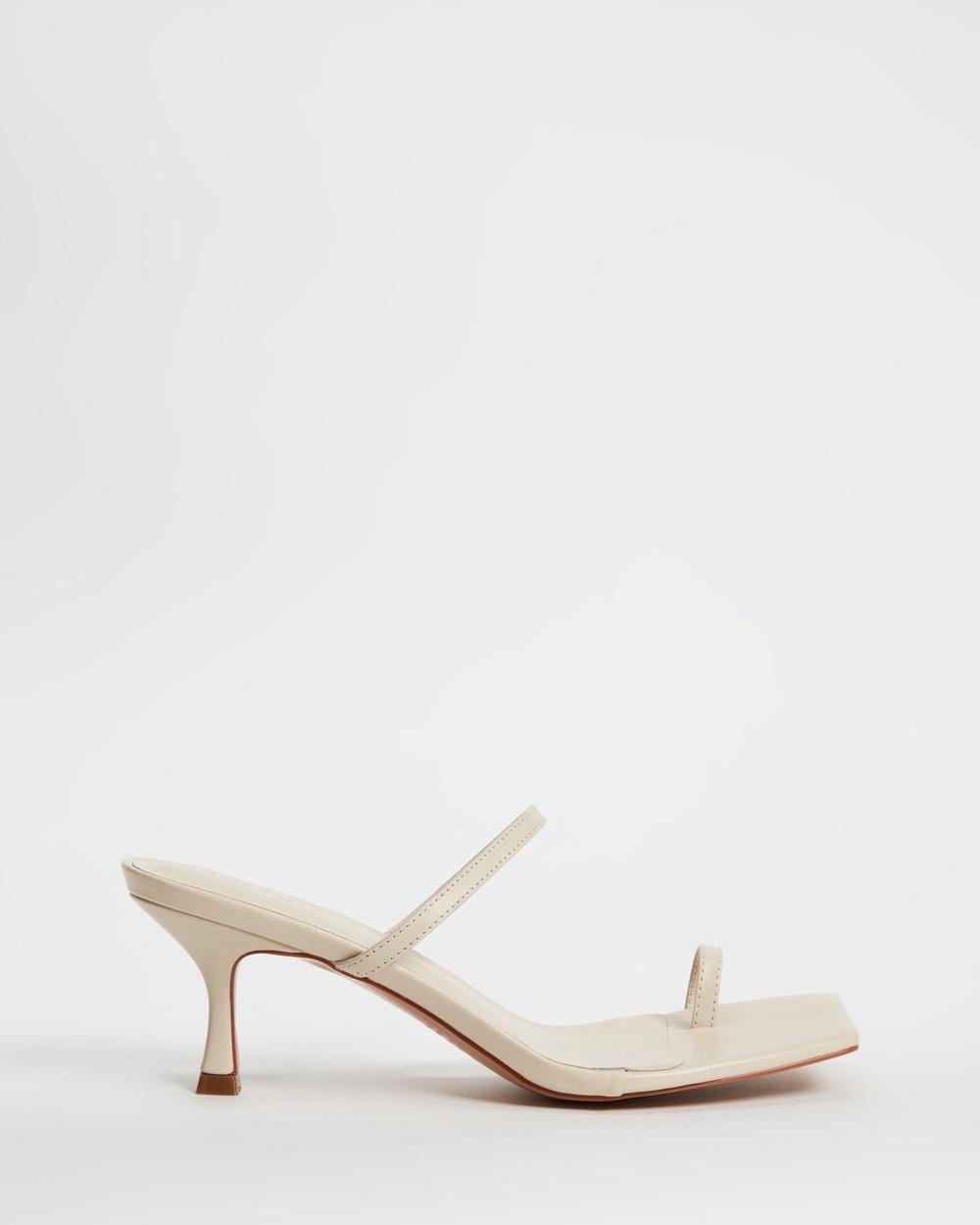 Alias Mae Baker Sandals Bone Leather