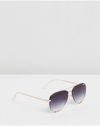 Quay Australia - High Key Mini Rimless Sunglasses