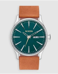 Nixon - Sentry Leather Watch