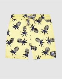Tom & Teddy - Pineapple Boardshorts