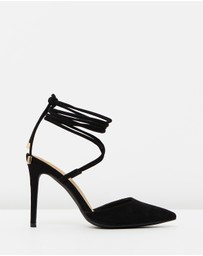 SPURR - ICONIC EXCLUSIVE - Kiralee Lace Up Heels