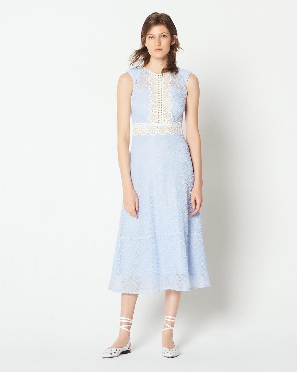 Sandro Hot Dress Dresses Sky Blue Hot Dress