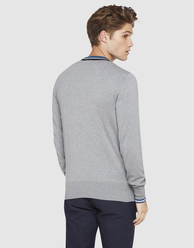 Oxford - Jax Tipping V-Neck Pullover