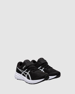 ASICS Patriot 12 Pre School - Lifestyle Shoes (Black/White)
