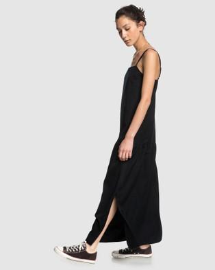 Quiksilver Quiksilver Womens Originals Long Tencel Dress - Dresses (Anthracite)