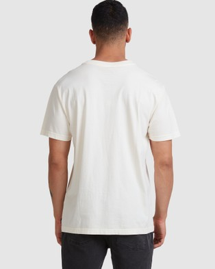 RVCA - Death Valley Short Sleeve Tee - T-Shirts & Singlets (BLEACHED) Death Valley Short Sleeve Tee