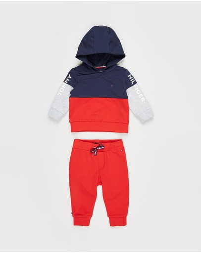 Tommy Hilfiger - Colourblock Hoodie Set - Babies