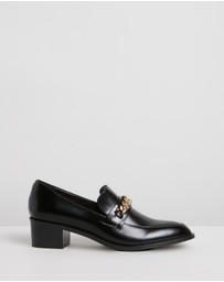 Atmos&Here - Tara Leather Loafers