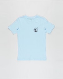 Free by Cotton On - Free Boys Skater Short Sleeve Tee - Teens