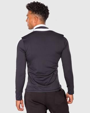 SASHED THE LABEL Overruled Zip Men Jacket Coats & Jackets Blue