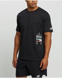 New Balance - R.W.T. Graphic Heathertech Tee