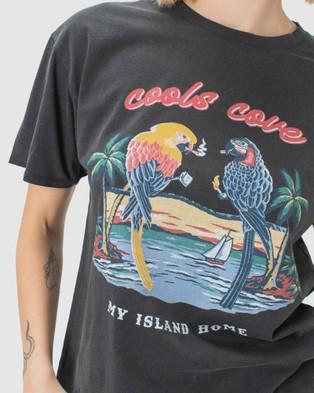 Cools Club - Sunday Tee - T-Shirts & Singlets (Vintage Black) Sunday Tee