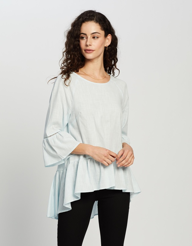 Atmos&Here - Tasha Cotton Blouse