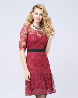 Alannah Hill – Field Of Diamonds Dress – Dresses (Red)