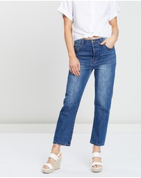 White By FTL - Houston Mum Jeans