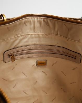 Guess Noelle Elite Tote - Bags (Latte)