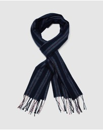 Oxford - Kier Herringbone Stripe Scarf