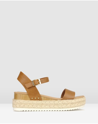 Betts - Tahlia Rope Flatform Sandals