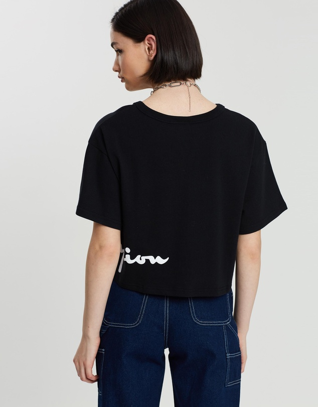 Champion - Heritage Graphic Cropped Tee