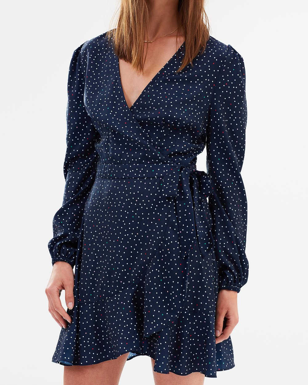 def852d331d Rooftop Polka Dot Long Sleeve Dress by The Fifth Label Online