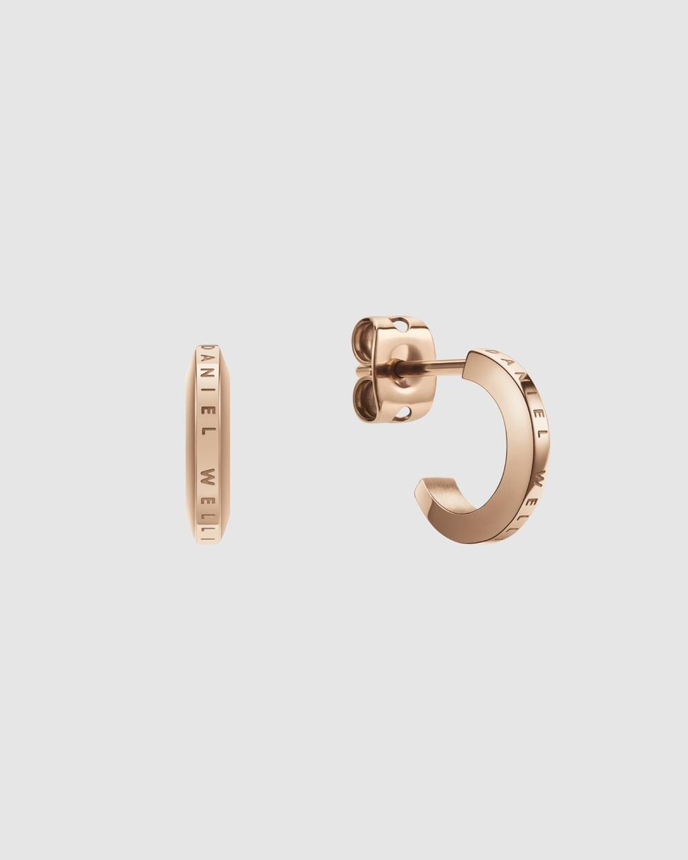 Daniel Wellington Elan Earrings Jewellery Rose gold