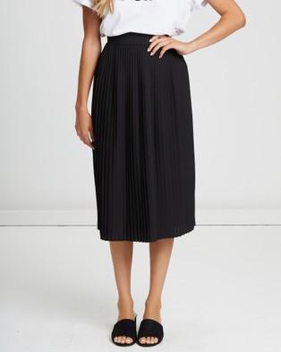 Calli Berdina Pleated Skirt - Pleated skirts (Black)