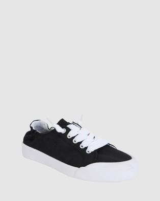 Sandler Switch - Slip-On Sneakers (BLACK)