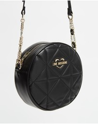 LOVE MOSCHINO - Round Cross-Body Bag