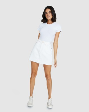 Insight Darby Denim Skirt - Skirts (OFF WHIT)